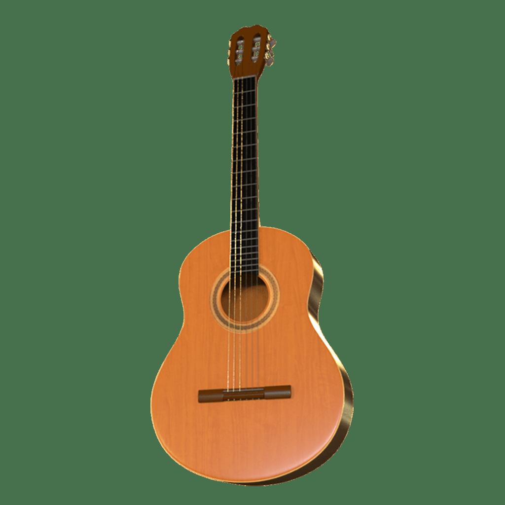 Classic Guitar Maya Rig